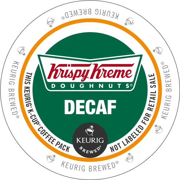 Decaf from Krispy Kreme Doughnuts